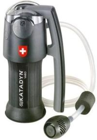 So excited! Our Katadyn water filter arrived - so many uses: camping, backpacking, drinkable water any time, any place.