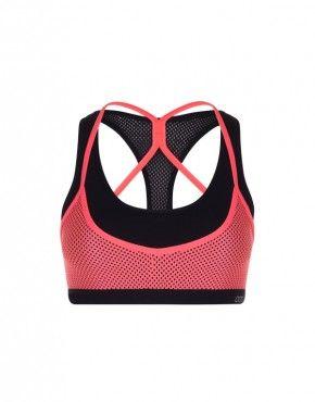 Twofold sports bra
