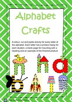 Alphabet Letter Craft
