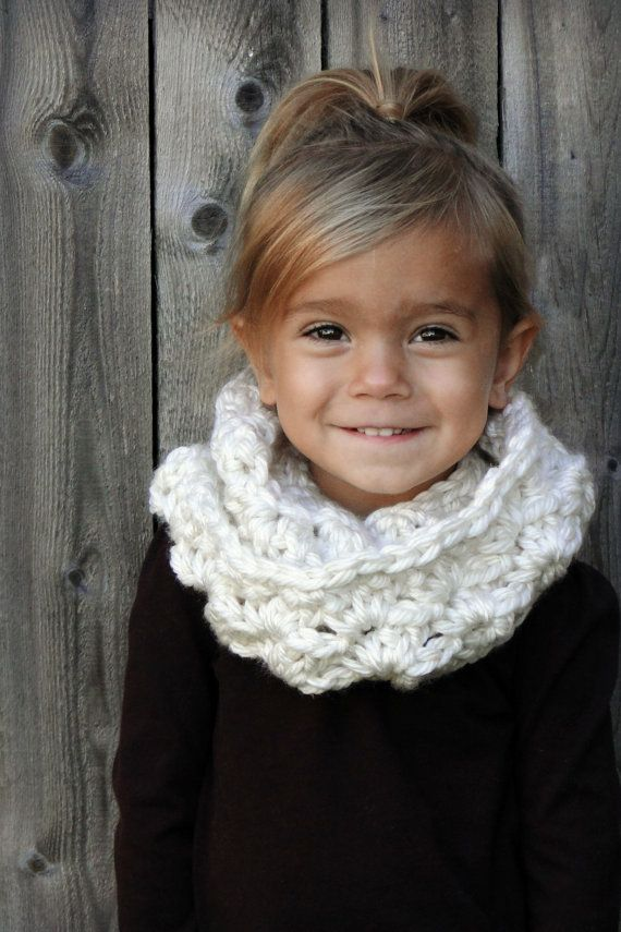 Crochet Infinity Scarf Pattern For Child : Infinity scarves work on kiddos too!!!!!Crochet Baby Hat ...