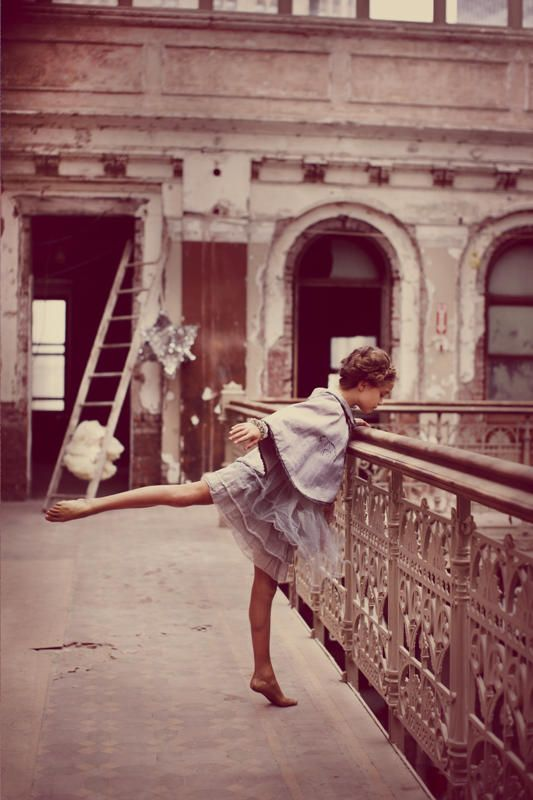 Dance even while sight seeing. :)