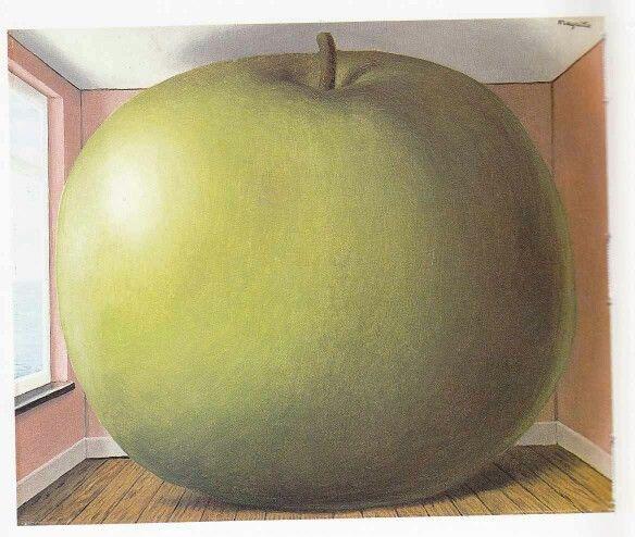 René Magritte La Chambre d'écoute 1958 The listening room 1958