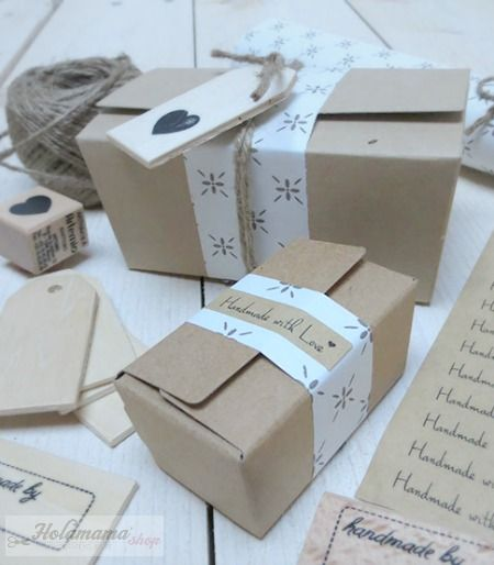creative packaging with Holamama shop.