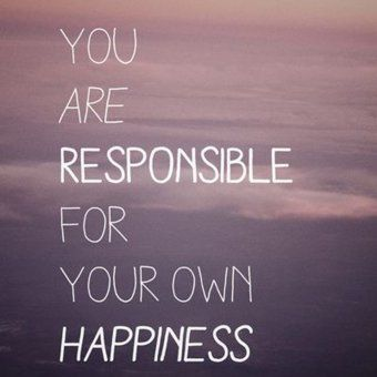 Des phrases qui boostent : You are responsible