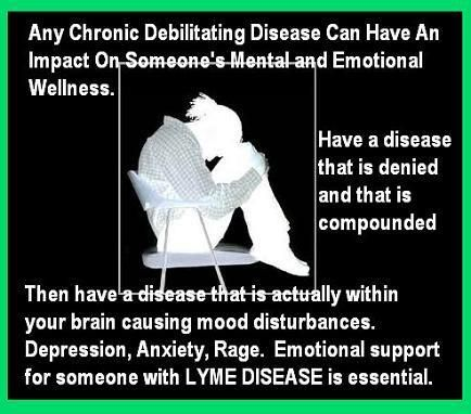 Lyme Disease - support is essential