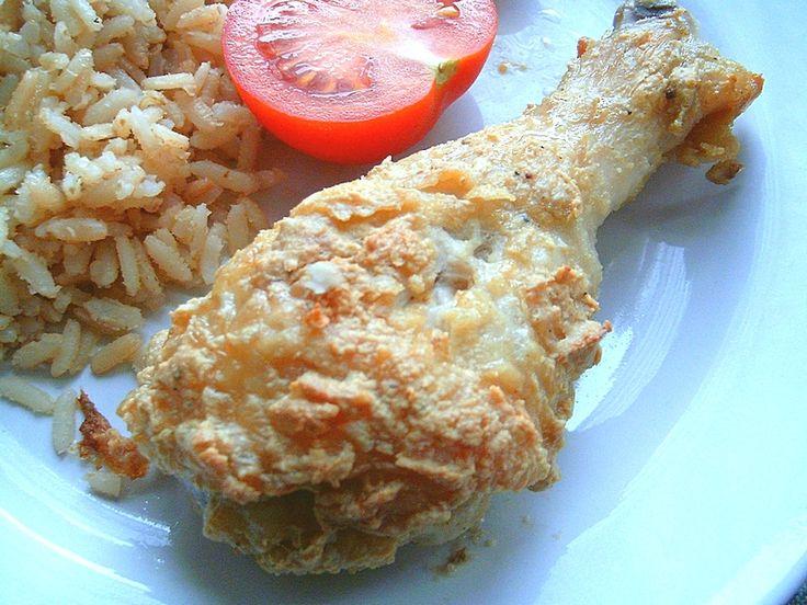 Kurczak w orzechowej panierce