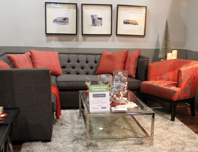 Jane Lockhart Furniture Designs as seen At The Interior Decorating Show. http://pinterest.com/intlhomeshow/
