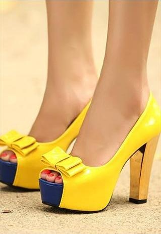 25  best Yellow pumps ideas on Pinterest | Yellow heels, Yellow ...