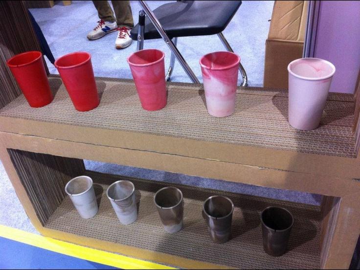 Special colors of original cups