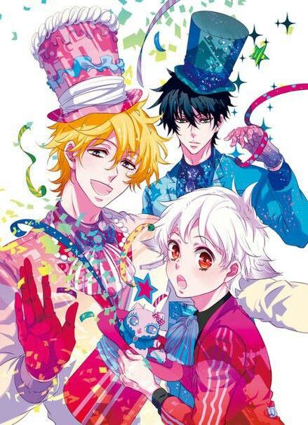 Karneval anime manga Yogi Nai Gareki Circus love
