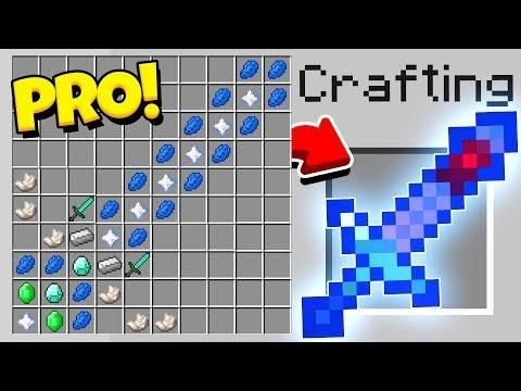 HOW TO CRAFT A $100,000 GOD SWORD! *OVERPOWERED* (Minecraft 1 13