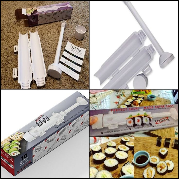 Durable Premium Quality Sushi Making Kit All In One Sushi Roll Kit Sushi Machine #moxieco