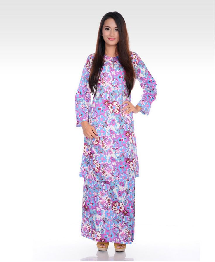 Mootiara - Floral Baju Kurung - Baju Kurung - Collection