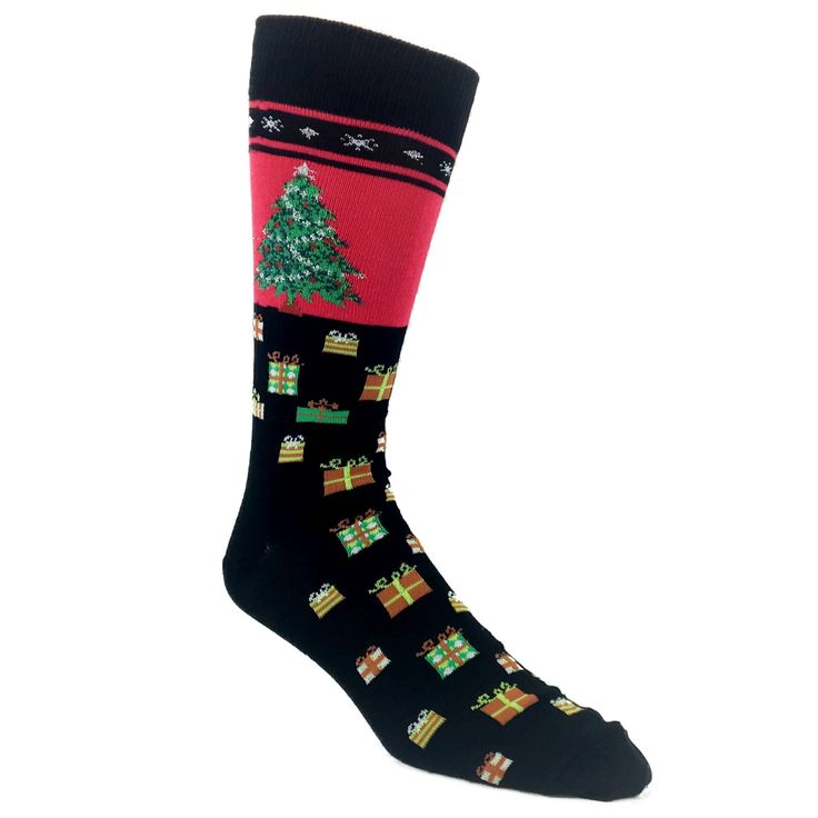 Challenge the status quo in these Christmas Tree No...  @SockSpotStore.  http://www.thesockspot.com/products/christmas-tree-non-skid-socks-black?utm_campaign=social_autopilot&utm_source=pin&utm_medium=pin