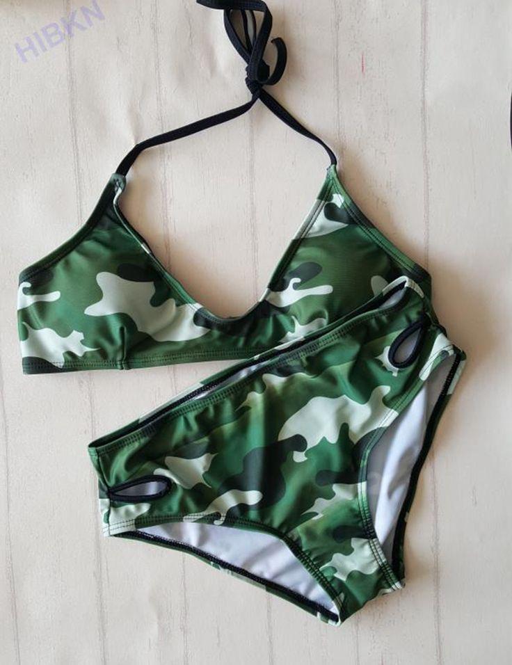 $12.99 (Buy here: https://alitems.com/g/1e8d114494ebda23ff8b16525dc3e8/?i=5&ulp=https%3A%2F%2Fwww.aliexpress.com%2Fitem%2FNew-Camouflage-print-bikini-strappy-swimsuit-halter-swimwear-army-green-bikinis-set-print-sport-swimsuit-Brazilian%2F32726829008.html ) Camouflage print bikini strappy camo swimsuit halter navy swimwear army green bikinis set print sport swimsuit Brazilian Biquini for just $12.99