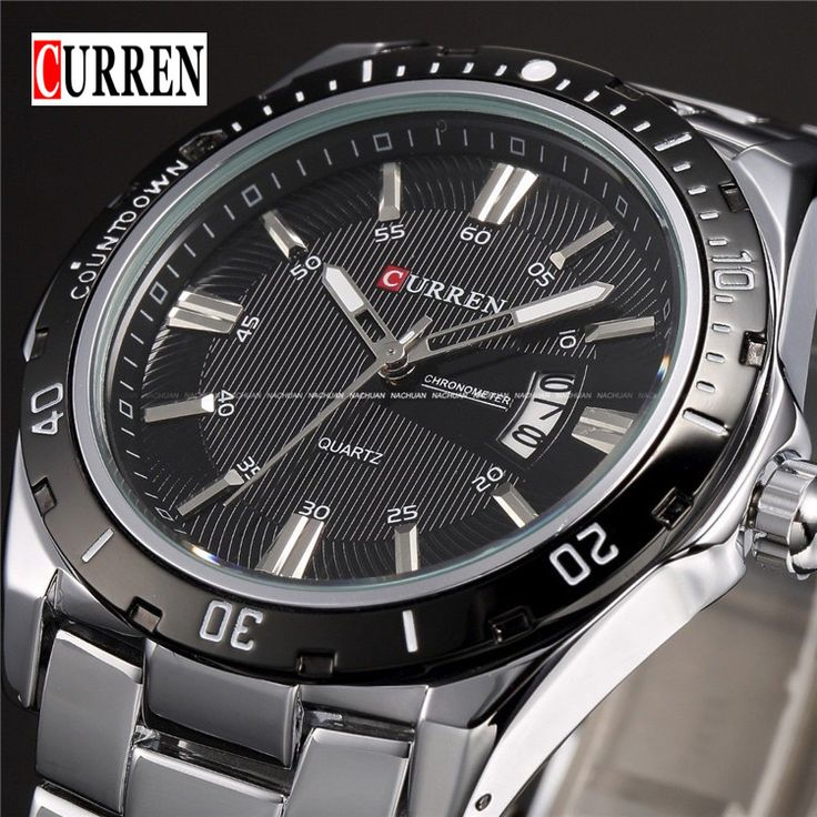 Find More Casual Watches Information about Curren Luxury Brand Men's Quartz Watch Casual Sports Watch Men Stainless Steel Strap Analog Date Wristwatch relogio masculino,High Quality watch women,China watch new moon free Suppliers, Cheap watches line from Headphone Mart on Aliexpress.com