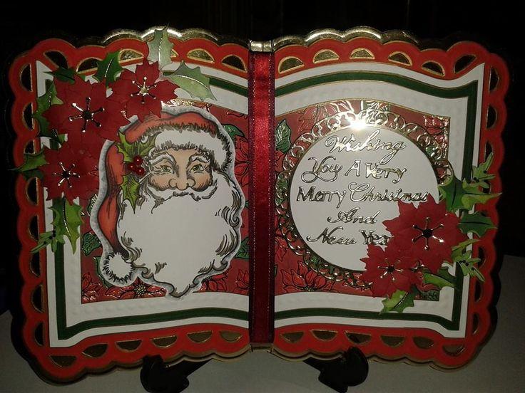 christmas bookatrix (once upon a time) card