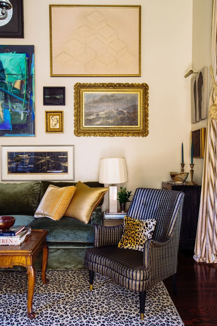 Designer Chad Graci turns his 650-square-foot condo into a sumptuous salon with character and patina | archdigest.com