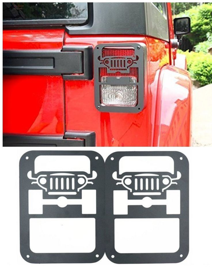 Ecowlboy Tail Lamp Tail Light Cover Trim