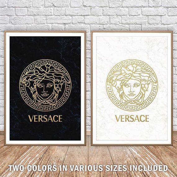 6 of Versace Medusa Appliques Home Decoration