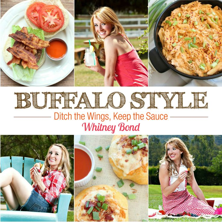"""Pre-Order a signed copy of my cookbook """"Buffalo Style"""" today! Whether it's game day or Wednesday, Buffalo Style has 50 recipes featuring Buffalo Sauce as an ingredient for every occasion."""