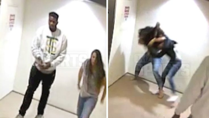 NFL's Dante Fowler -- REFS BABY MAMA BRAWL ... Insane Video-If there's one thing we've learned being a celebrity news and gossip site, it's that nothing good ever comes from security footage — especially with an elevator in the background.  In newly released footage, NFL star Dante Fowler — the 3rd pick in the 2015 Draft — can be seen refereeing a fight between his current girlfriend and the mother of his child at a Florida apartment complex.  via TMZ Sports:  It all went down on February…