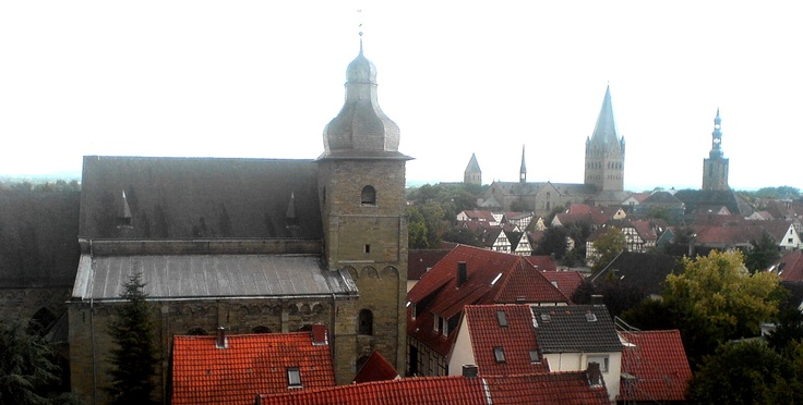 Hohnekirche, Dom und St. Petri in Soest