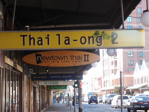 Thai Thai Thai or Thai. King St Newtown must have the highest per capita concentration of Thai restos in Sydney.