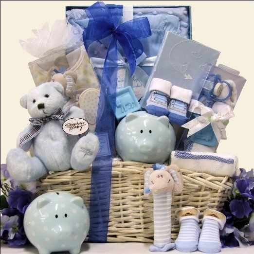 best baby shower gift basket images on   baby shower, Baby shower invitation