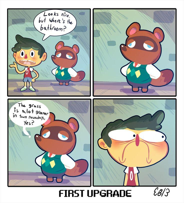 animal crossing comics | Animal Crossing Comic by Lutraphobic