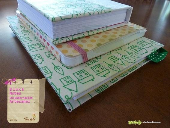 tutorial encuadernación artesanal