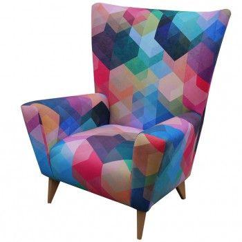 Cuben Array Wing Chair