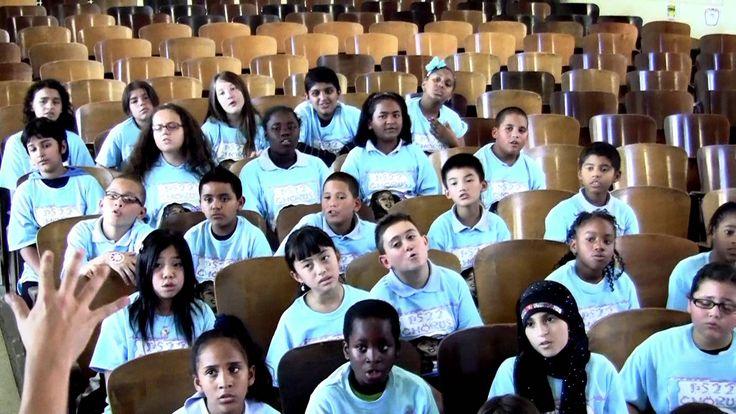 "PS22 Chorus ""TiTaNiuM"" David Guetta ft. Sia Teaching"