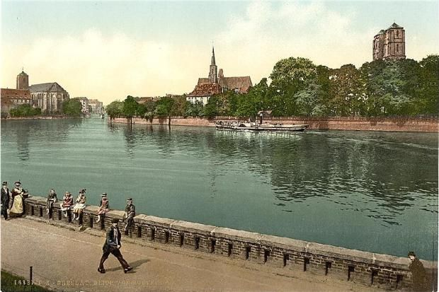 Postcards of the Past - Old Postcards of Wroclaw (Breslau), Poland