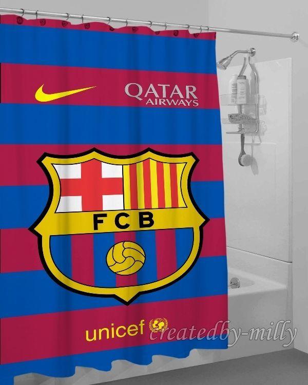 Barcelona FCB Best Arrival Design High Quality Shower Curtain 60 x 72 Inch #Unbranded #Modern #New #Hot #Best #Custom #Design #Home #Decor #Bestseller #Movie #Sport #Music #Band #Disney #Katespade #Lilypulitzer #Coach #Adidas # Beauty #Harry #Bestselling #Kid #Art #Color #Brand #Branded #Trending #2017