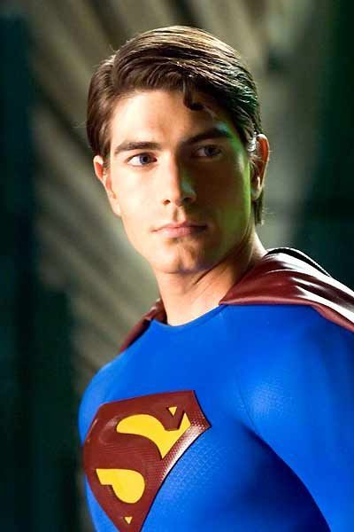 Brandon Routh as the title character in Superman Returns, costarring #KateBosworth, #JamesMarsden and #KevinSpacey.