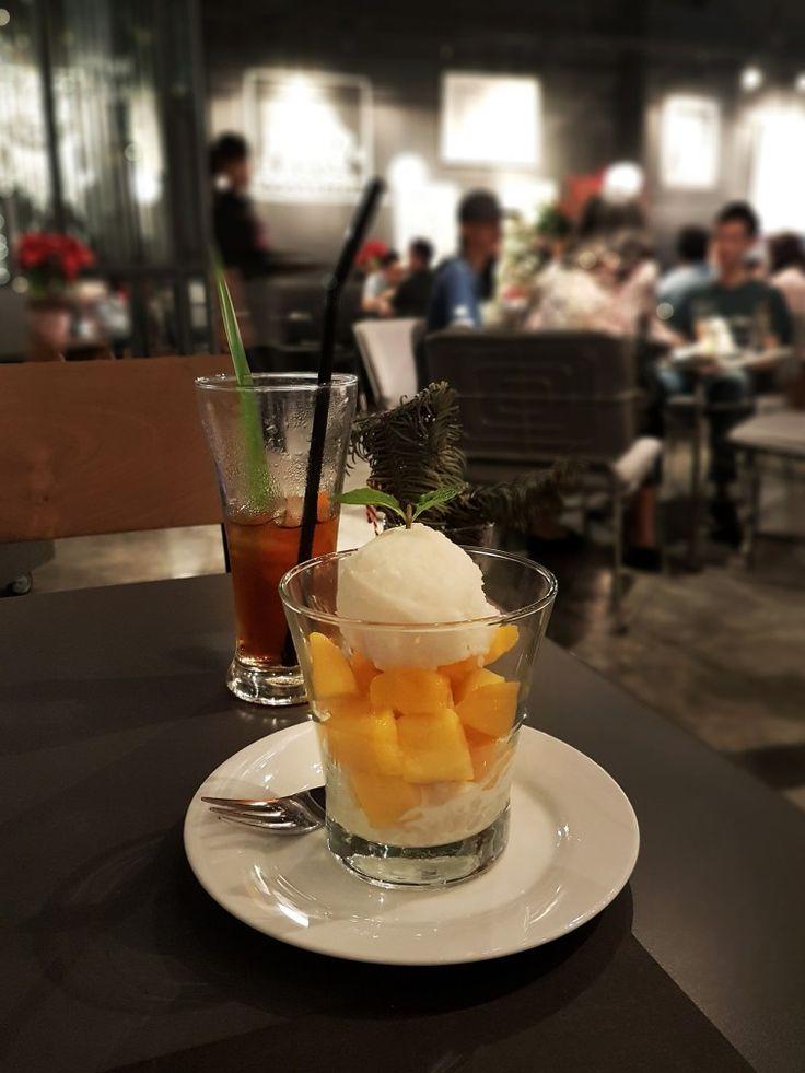 """""""Sticky Rice + Mango"""", Greyhound Cafe, Jakarta"""