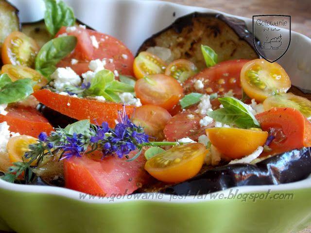 Gotowanie jest łatwe: Sałatka z bakłażana