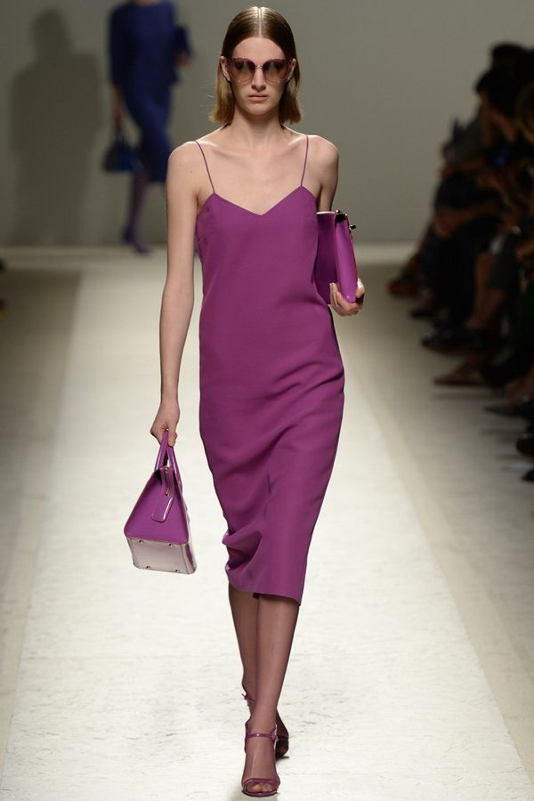 The Max Mara 2014 Spring RTW Collection Slips into Milan Fashion Week