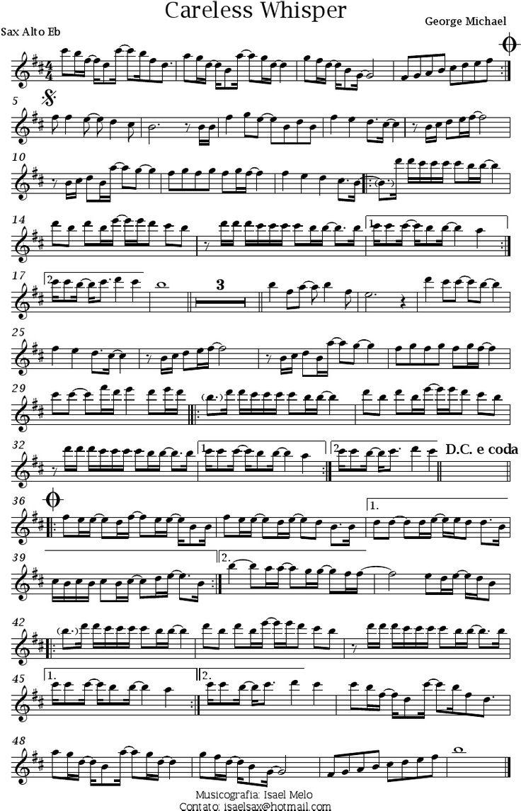 Sexy sax man sheet music images 11