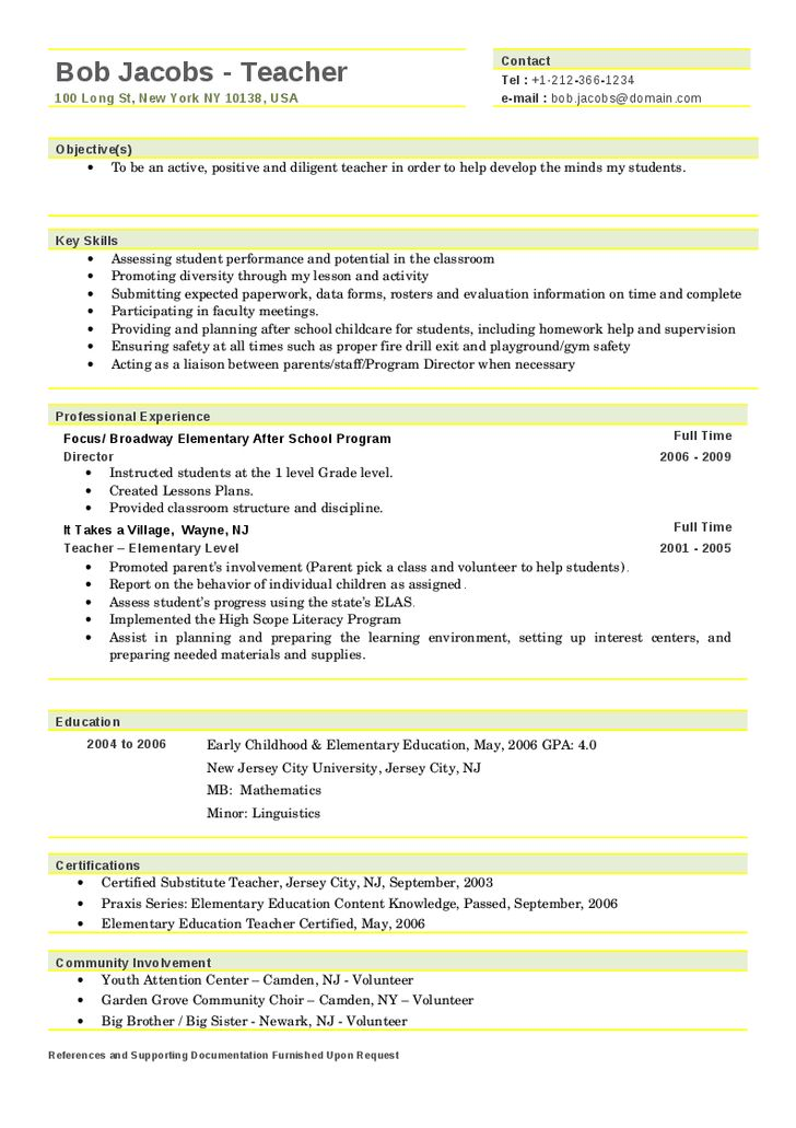 best 25  teacher resumes ideas on pinterest
