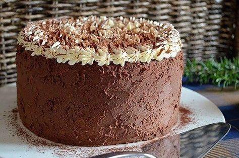 Mascarponés krémtorta csokoládés habbal, még a tányért is kinyaltuk utána!