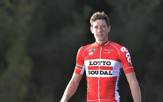 """""""Le risque vital est écarté"""" pour Stig Broeckx, victime d'une terrible chute au Tour de Belgique -                  Le risque vital immédiat est à présent écarté pour Stig Broeckx, qui a été maintenu dans un coma artificiel ces onze derniers jours à l'hôpital d'Aix-la-Chapelle, a annoncé mercredi son équipe Lotto-Soudal.  http://si.rosselcdn.net/sites/default/files/imag"""