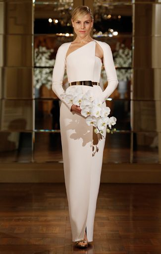 Most Edgy Wedding Dresses From Bridal Fashion Week!TheKnot.com -