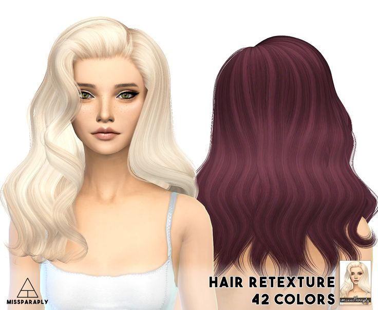 141 Best Sims 4 Hair Images On Pinterest Sims Hair Sims