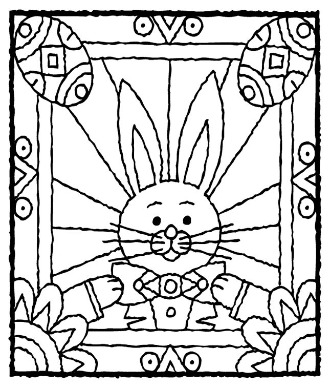 easter eggs coloring page 5gif 645757 pixels