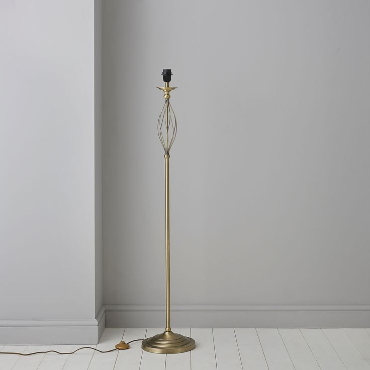 Eliza swirl floor lamp base