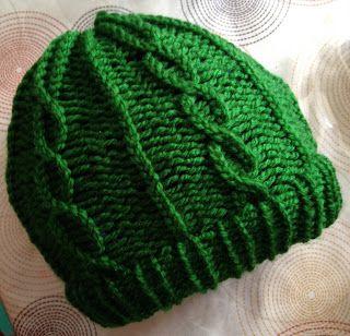 100x100SinGluten: Loom knitting - Gorro de lana con telar circular p...