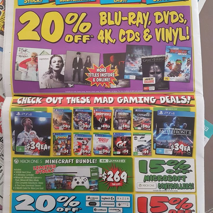15% Nintendo eShop Cards at JB Hi-Fi, 26th of Dec to 1st of Jan