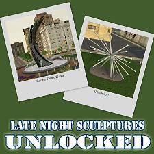 Mod The Sims - Late Night Sculptures Unlocked